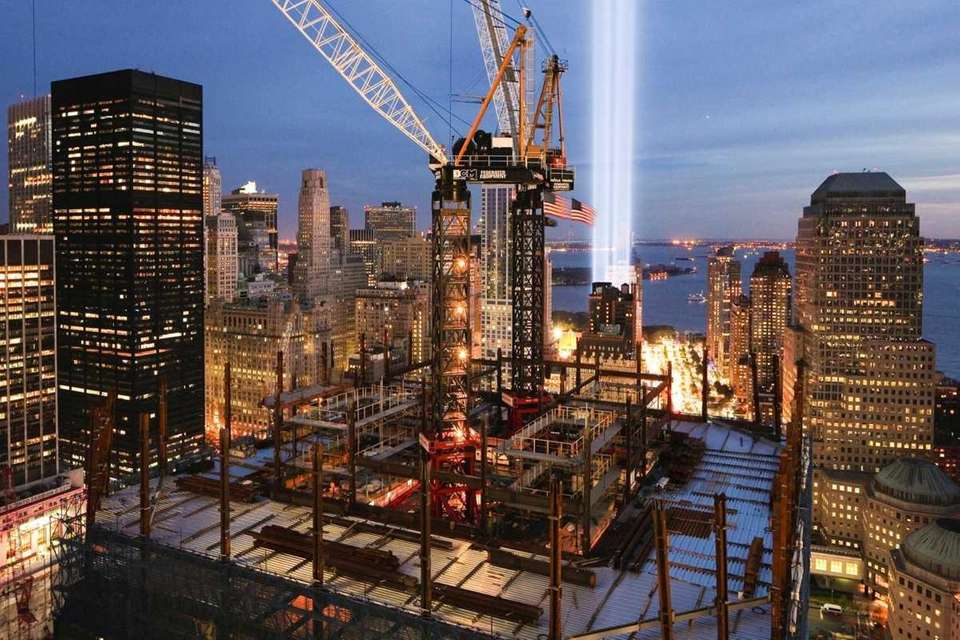 A year ago, the Tribute of Light beams