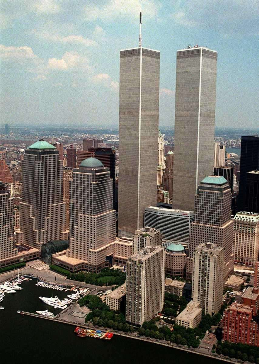 The Twin Towers of New York's World Trade