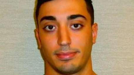 Angelo N. Sciortino, of Bethpage, was charged with