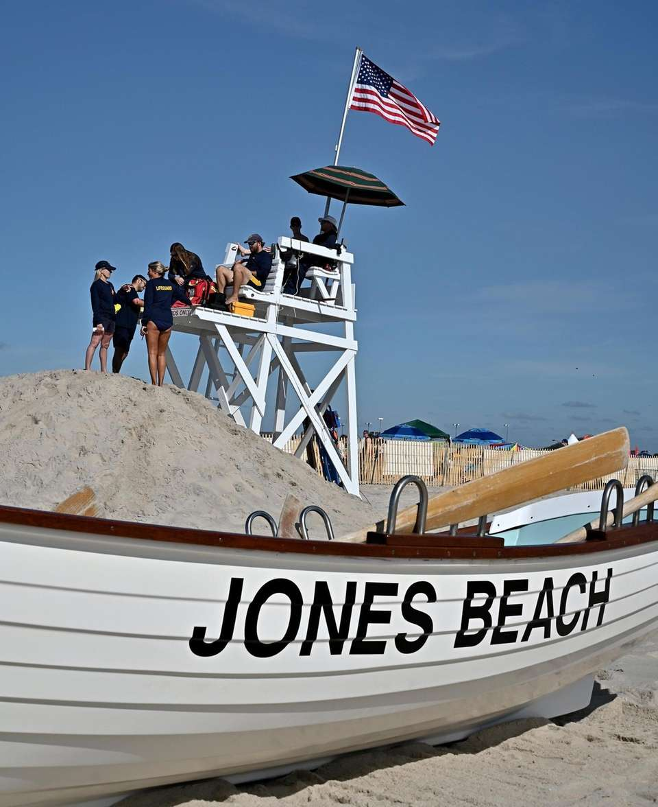 Lifeguards on duty for the 16th Annual Jones
