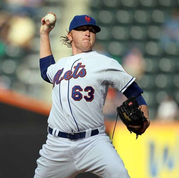 Chris Schwinden #63 of the New York Mets