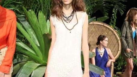 A model poses at the Candela Spring 2012