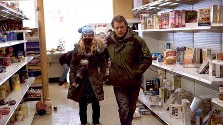 Anna Jacoby-Heron as Jory Emhoff and Matt Damon