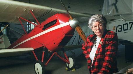 Elinor Smith Sullivan, record-setting pilot, pictured at the