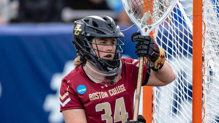 Boston College Lauren Daly (34) during Boston College
