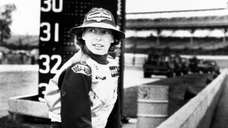 Janet Guthrie, the first woman to have an