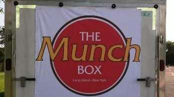 The Munch Box lunch truck in Melville is