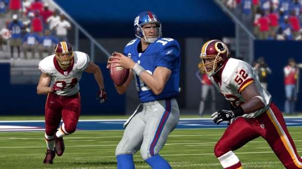 Gameplay from Madden NFL 12.