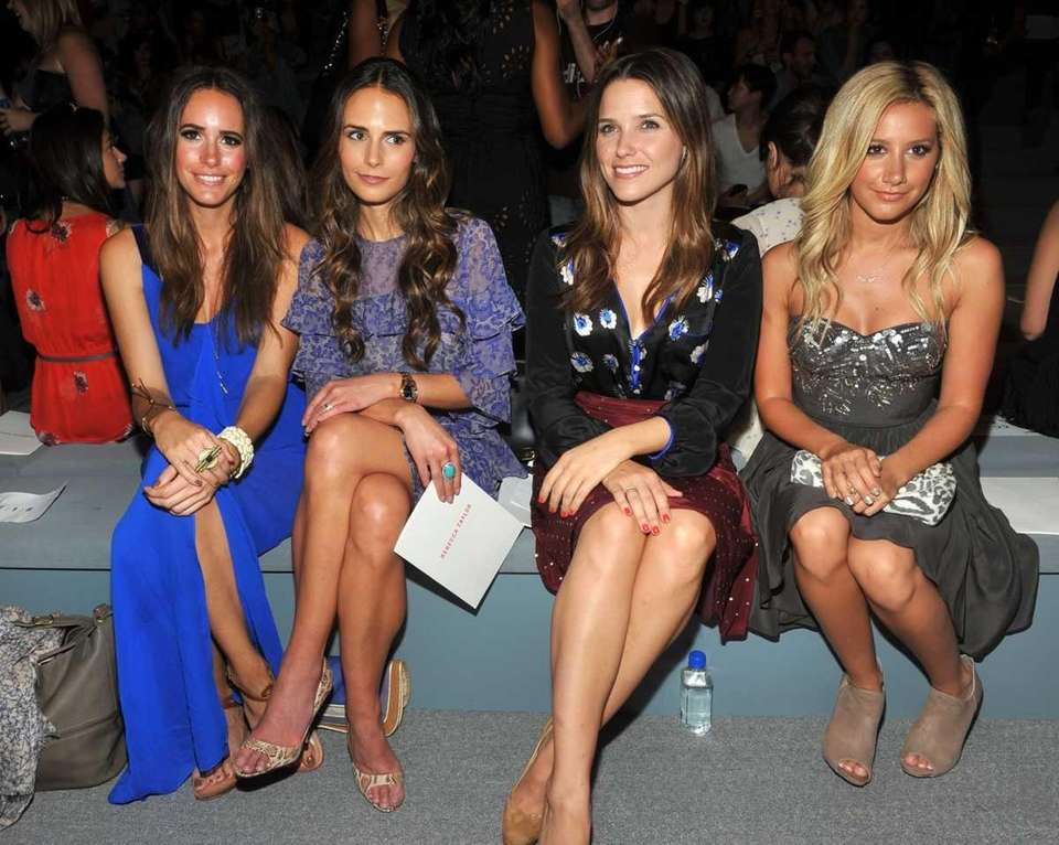 Louise Roe, from left, Jordana Brewster, Sophia Bush