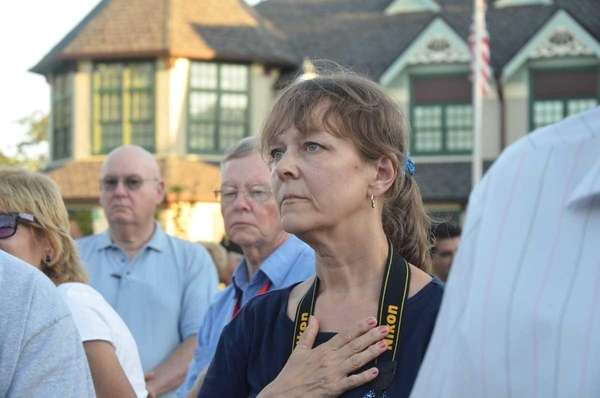 Susan Holdy, a survivor of the September 11th