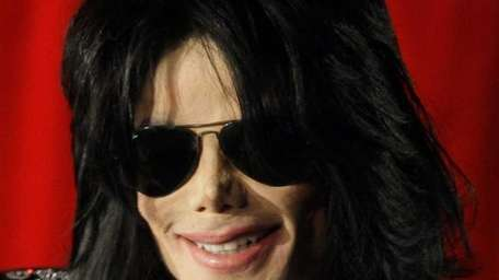 In file photo, Michael Jackson at a news
