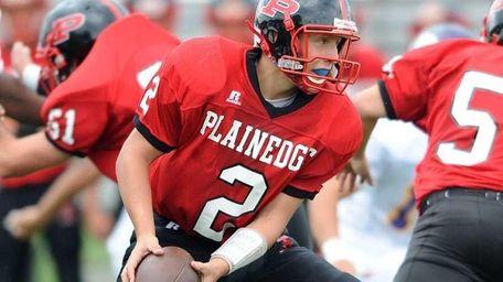 Nick Frenger, #2 of the Plainedge Red Devils,