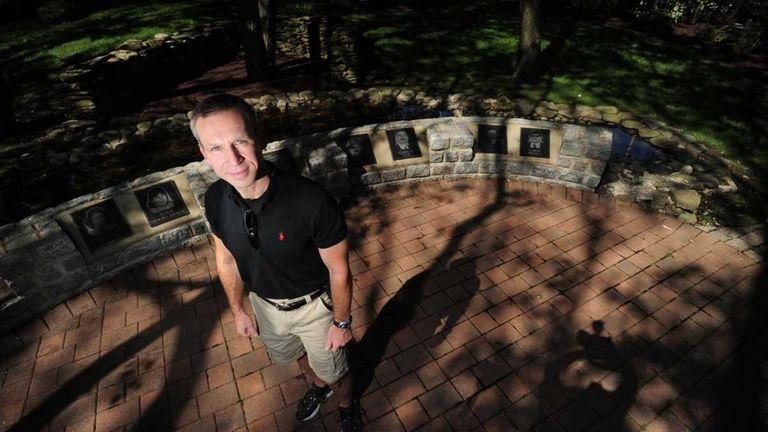 Gary Lee photographed at Fireman's Park in Lindenhurst