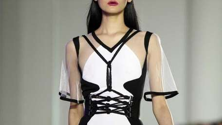 The spring 2012 collection of designer Prabal Gurung