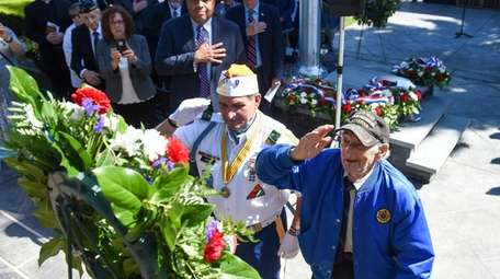 World War II veteran Morris Koffer, 96, of