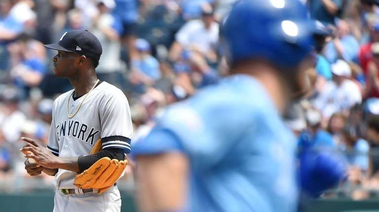 sports shoes f795f a5190 Yankees rally back after Domingo German's poor start, but ...