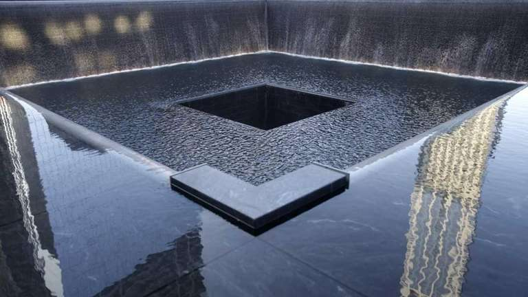 Names of those killed on 9/11 are seen
