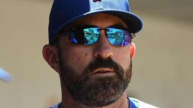 Mets manager Mickey Callaway, shown here during Sunday's