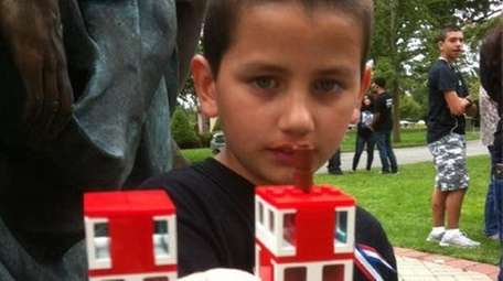 Manuel J. Damota, 9, never met his dad.