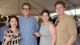 Serena Richard, Roger Skelton, Christine Lagana and Joseph
