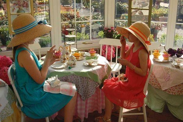 The Birthday Tea Party at the Main Street