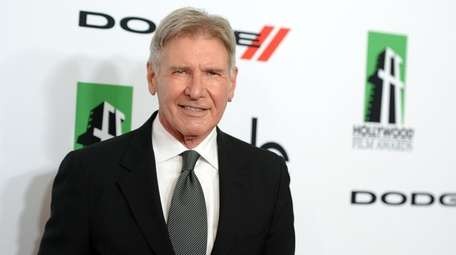 Harrison Ford attends the Hollywood Film Awards in