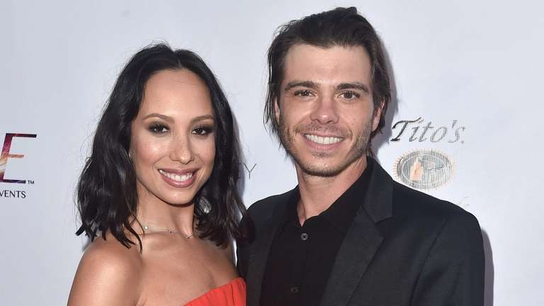 Cheryl Burke and Matthew Lawrence attend a RIDE