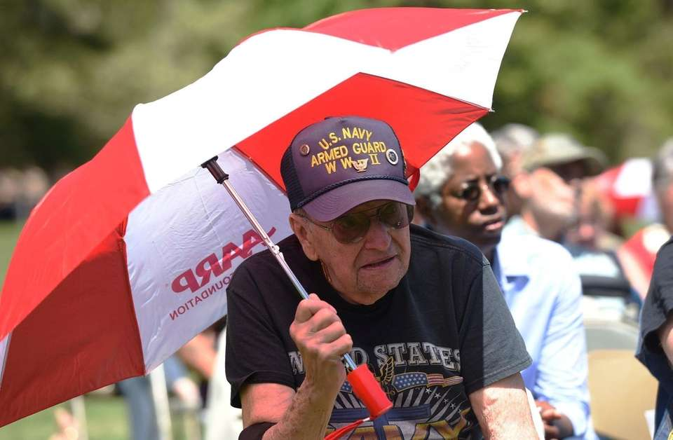 WWII US Navy army guard veteran Jerry Shaw,
