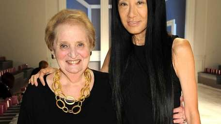 Former Secretary of State Madeleine Albright attends the