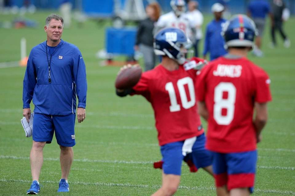 New York Giants head coach Pat Shurmur and