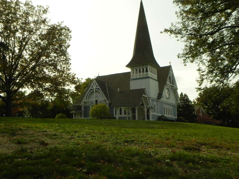 Oyster Bay's historic Presbyterian Church was completed in