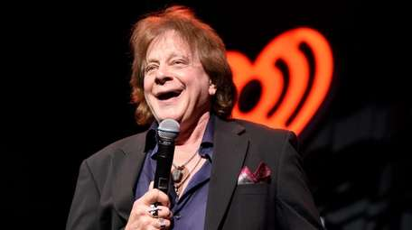 Eddie Money performs during the iHeart80s Party