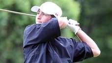 Chaminade's Declan Kilduff swings during the CHSAA boys