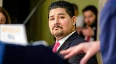 New York City Schools Chancellor Richard Carranza attends