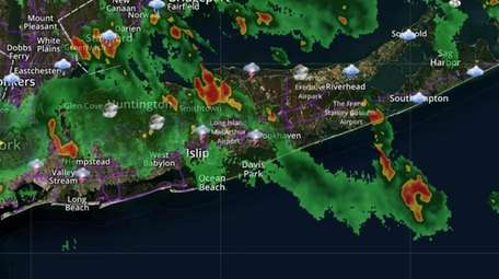 A view of radar in our region late