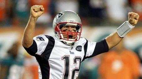 Undated file photo of Patriots quarterback Tom Brady.