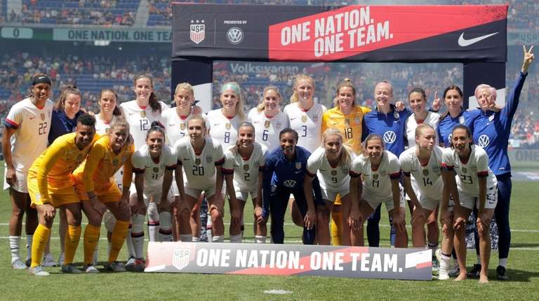 Members of the United States women's national team