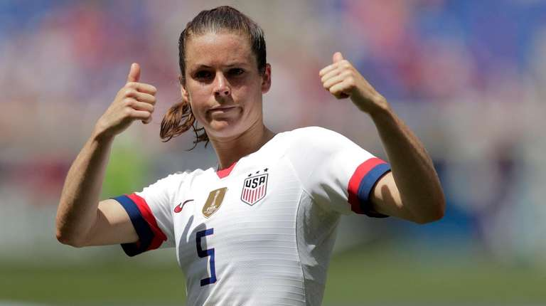 Kelley O'Hara, a defender for the United States