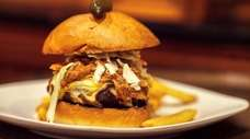 The pulled-pork Stackhouse burger was one of the