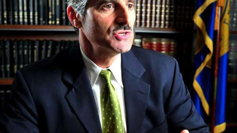Suffolk County Executive Steve Levy discusses some facets