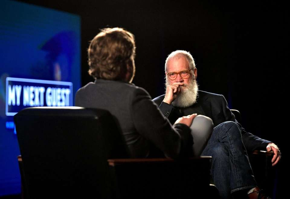 David Letterman's Netflix talk show, which has featured