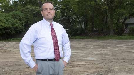Dan Panico, Brookhaven Town councilman, stands on a