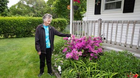Barbara Murphy, 77, of Mastic Beach, lives next