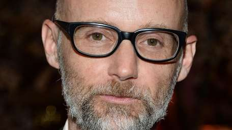 Musician Moby attends an alice + olivia and
