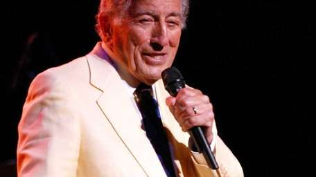 Tony Bennett performs at the Classic Center on