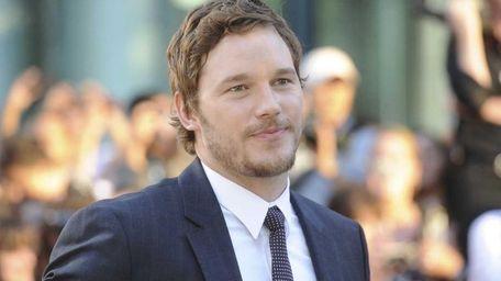 Actor Chris Pratt arrives at