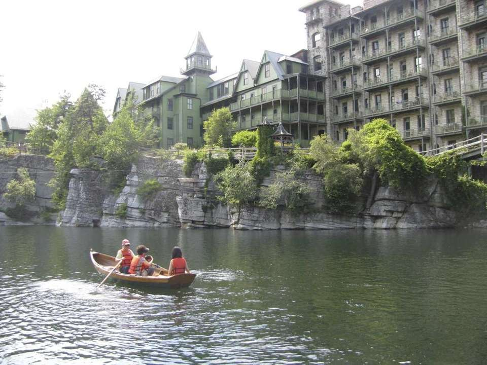 Day visitors to Mohonk Mountain House can rent