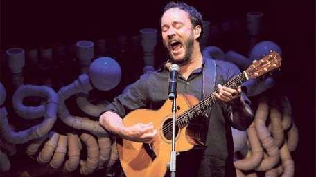 Dave Matthews performs at the Blue Man Group's