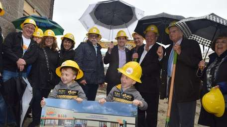 The Sunrise Association broke ground May 5 for