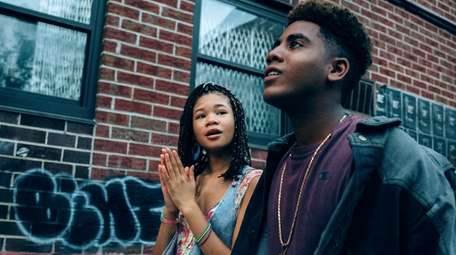 Storm Reid as Lisa and Jharrel Jerome as